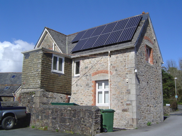 School House PV installation